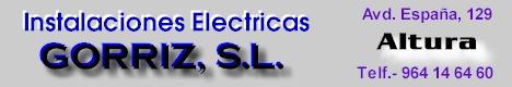 Instalaciones Eléctricas Gorriz, S.L.