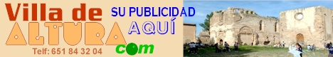 Publicidad en www.villadealtura.com (Telf: 651 84 32 04), pgina web y correo electronico personalizado.