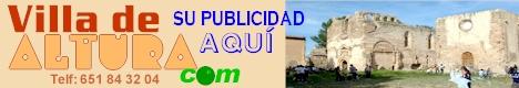 Publicidad en www.villadealtura.com (Telf: 651 84 32 04), página web y correo electronico personalizado.