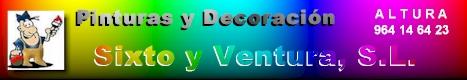 Pintura y decoración Sixto y Ventura, S.L.